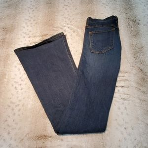 Flying Monkey Dark Wash Flare Long Inseam Jeans
